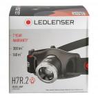 Lampe frontale H7R.2 tête pivotante, graduable et rechargeable - LEDLENSER 7298
