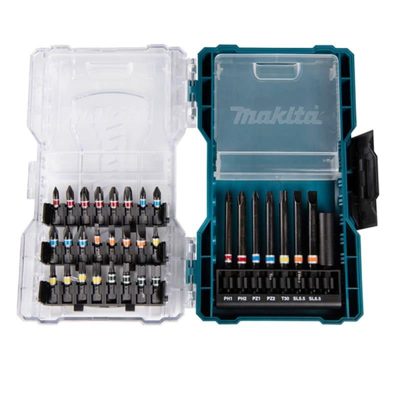 Coffret d'embouts 25 et 50 mm (32 pièces) - MAKITA E-07076