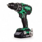 Perceuse visseuse à percussion brushless 18V 2 x 3Ah dans coffret de transport - HITACHI DV18DBFL2/JM