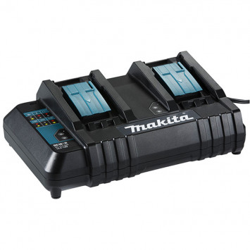 Chargeur pour 2 batteries Li-Ion 14,4 à 18 V - MAKITA DC18SH
