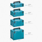 Coffret empilable robuste Makpac Taille 4 - MAKITA MAKPAC4