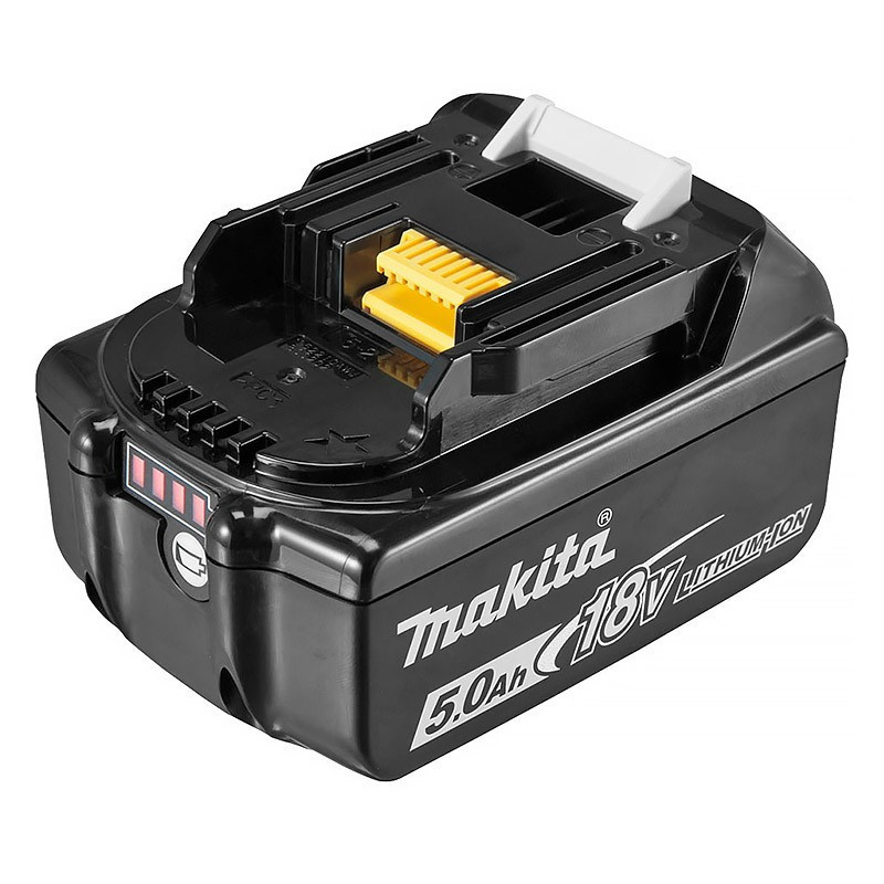 Batterie 18V Li-Ion 5,0 Ah avec indicateur de charge - MAKITA BL1850B
