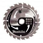 Scie circulaire 18V BL Ø165mm (Machine seule) en MAKPAC + lame MForce 24 dents - MAKITA DHS680ZJ