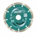 Disque diamant DIAMAK Ø125 mm pour meuleuse - MAKITA D-61139