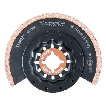 Lame segment à concrétion carbure pour coupes fines TMA071 - MAKITA B-65040