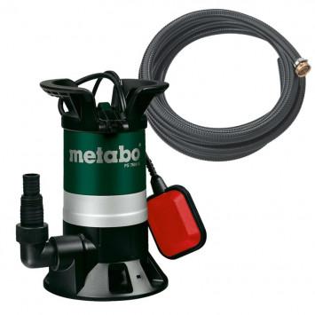 Pompe immergée pour eaux usées 450 W PS7500S avec garniture - METABO 690864000