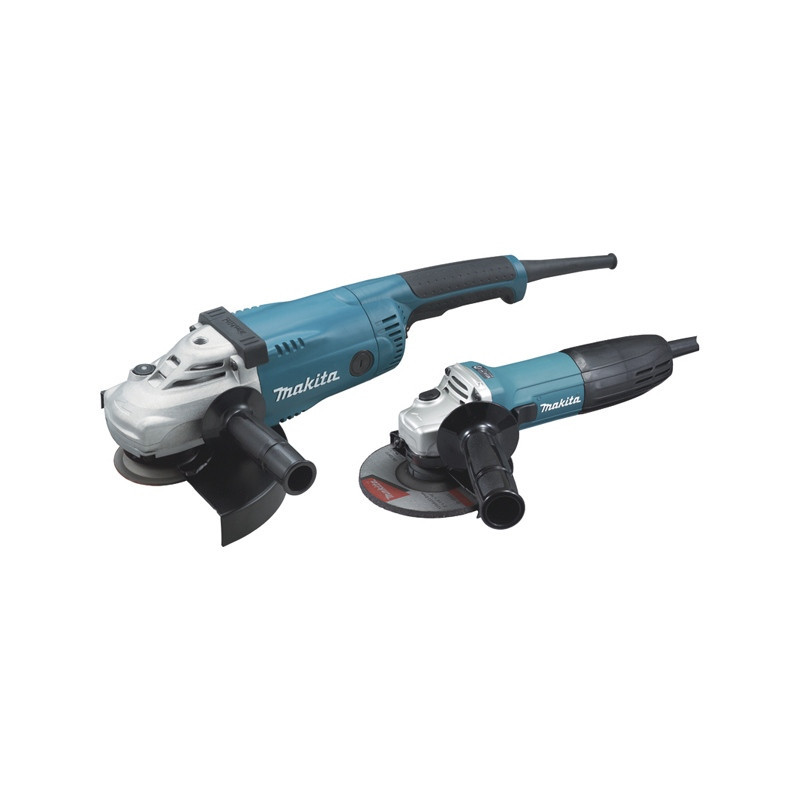 Pack de 2 meuleuses (GA9020 + GA5030R) - MAKITA DK0097X1