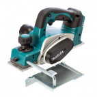 Rabot sans fil 18 V Li-Ion 82 mm (machine seule) - MAKITA DKP180Z