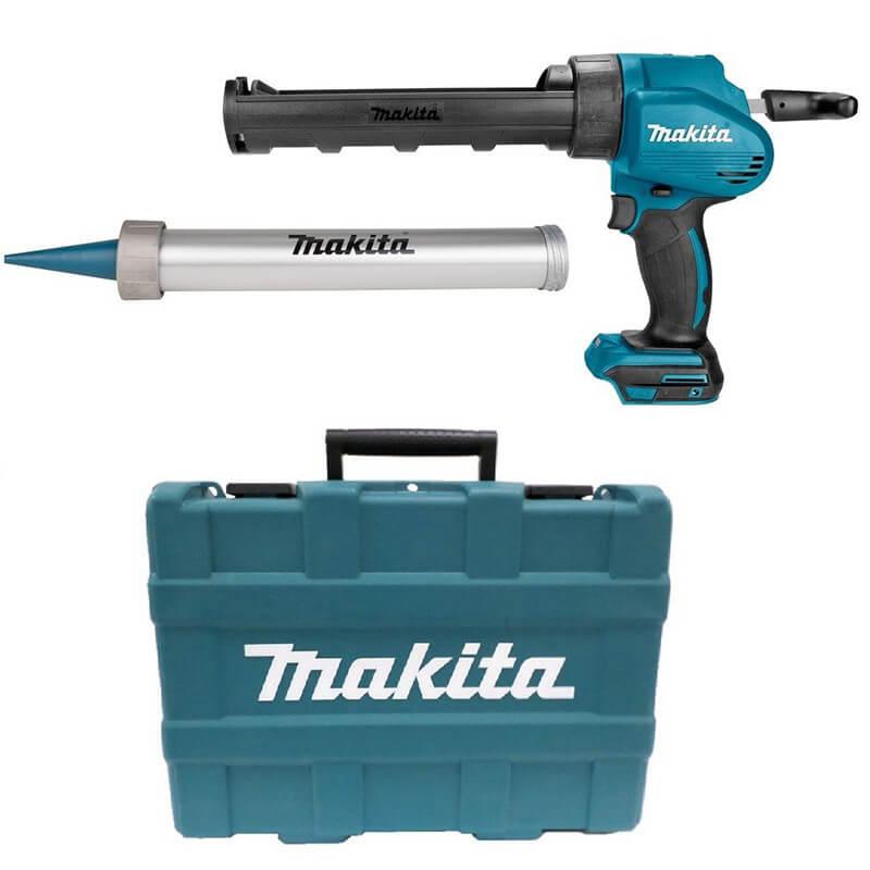Pistolet à mastic 18V (Machine seule) avec support cartouche dans coffret - MAKITA DCG180ZXK