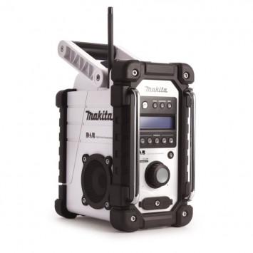 Radio Stéreo 7,2 à 18V Li-Ion blanc (machine seule) - MAKITA DMR104W