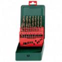 Cassette de forets HSS-CO, 19 pièces - METABO 627157000