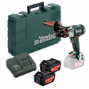 Perceuse visseuse à percussion 2x4,0Ah Li-Ion en coffret - Metabo SB18LTX IMPULS