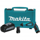 Perceuse visseuse 7,2V Li-ion - MAKITA DF012DSJ