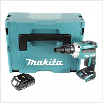 Visseuse à placo 18V Li-Ion (1x 1.5Ah) en coffret Makpac - MAKITA DFS251Y1J