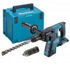 Perforateur burineur SDS + 36V (2 x 18V) 26mm (Machine seule) dans coffret Makpac - MAKITA DHR264ZJ