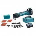 Outil multifonctions oscillant à batteries LXT 18 V - MAKITA DTM51RTJX2