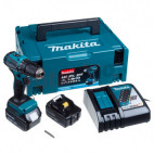 Perceuse visseuse 18V Li-Ion BL (2x5.0 Ah) - MAKITA DDF483RTJ