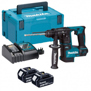 Marteau perforateur + 2 batteries + chargeur + coffret - MAKITA DHR171RMJ