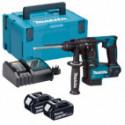 Marteau perforateur + 2 batteries + chargeur + coffret - MAKITA DHR171RMJ