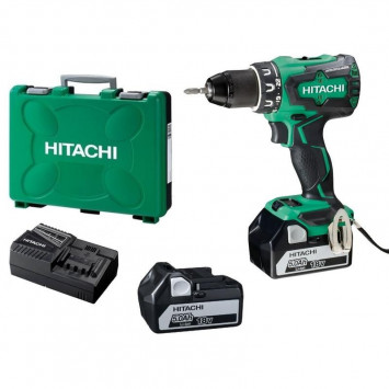 Perceuse visseuse 18 V BL (2x5.0Ah) - HITACHI DS18DBSL