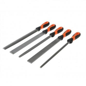 Set de 5 limes plâtes 250mm - BAHCO 1-478-10-1-2