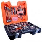 """Mallette à outils 92 pièces avec douilles 1/4 et 1/2"""" - BAHCO S910"""