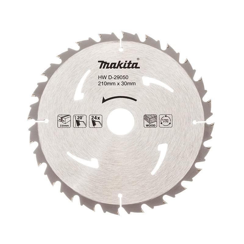 Lames carbure standard bois, pour scies circulaires Ø 210mm - MAKITA D-29050