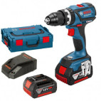 Perceuse à percussion 18V (2x4 0Ah) Brushless - Bosch GSB18V-EC