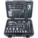 Mallette à outils 122 pièces outils et embouts - MANNESMANN M29070