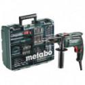 Perceuse à percussion 650W avec 72 accessoires en coffret - Metabo SBE650 SET
