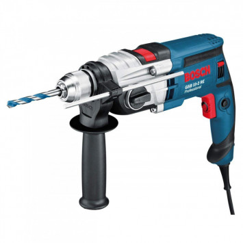 Perceuse à percussion 2 vitesses 850W - BOSCH GSB 19-2 RE
