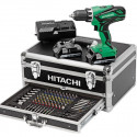 Perceuse visseuse 2x18V 2.5Ah - HITACHI KC18DJLF