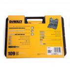 Coffret de 109 embouts de vissage et forets - DEWALT DT0109