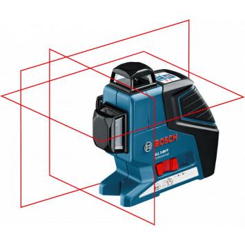Laser 3 plans 360 degrés et un trépied BT 150 1/4 - BOSCH GLL 3-80 P