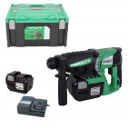 Perforateur Burineur SDS-Plus 26mm 25,2V - (2x 2,0Ah) Li-Ion - HITACHI DH25DAL