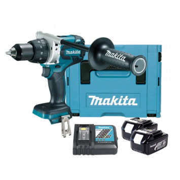 Perceuse visseuse 18V Li-Ion BL Ø13mm (2x3.0 Ah) - MAKITA DDF481RFJ