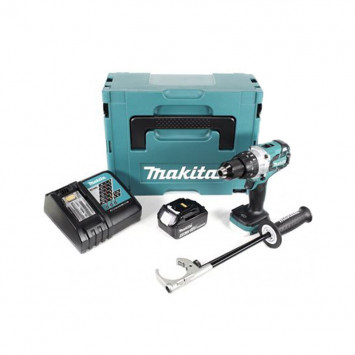 Perceuse visseuse à percussion 18V LXT 1x4.0Ah Li-Ion - MAKITA DHP481RFM1J