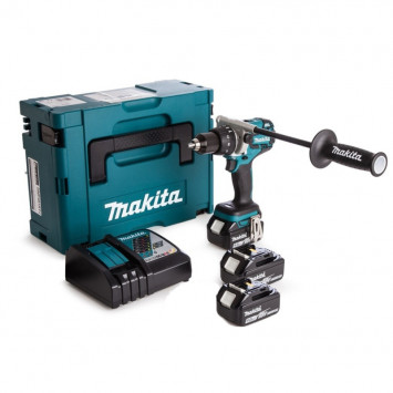 Perceuse visseuse à percussion 18V LXT 3x5.0Ah Li-Ion - MAKITA DHP481RT3J