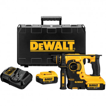 Perforateur burineur SDS+ 18V XR Li-ion 2 x 4,0 Ah - DEWALT DCH253M2