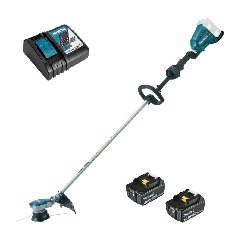 Coupe-herbe 36 V (2 x 18 V) Li-Ion (2 x 5.0 Ah) - MAKITA DUR364RT2