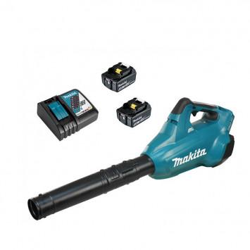 Souffleur 36V LXT 2x4.0Ah et chargeur rapide - MAKITA DUB362RM2
