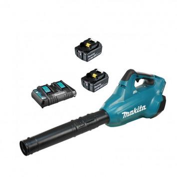 Souffleur 36V LXT 2x4.0Ah et chargeur double - MAKITA DUB362PM2