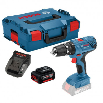 Perceuse visseuse à percussion 18V (1x5.0 Ah) - BOSCH GSB18V-21