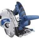 Scie plongeante 1200 W 160 mm avec rail de guidage 2x70 cm - SCHEPPACH 5901802915(PL55)