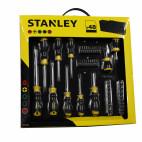 Jeu de 48 tournevis dans sac de transport - Stanley STH0-70887