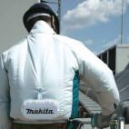 Blouson ventilé 14.4/ 18 V Li-Ion (Produit seul) taille L - MAKITA DFJ201ZL
