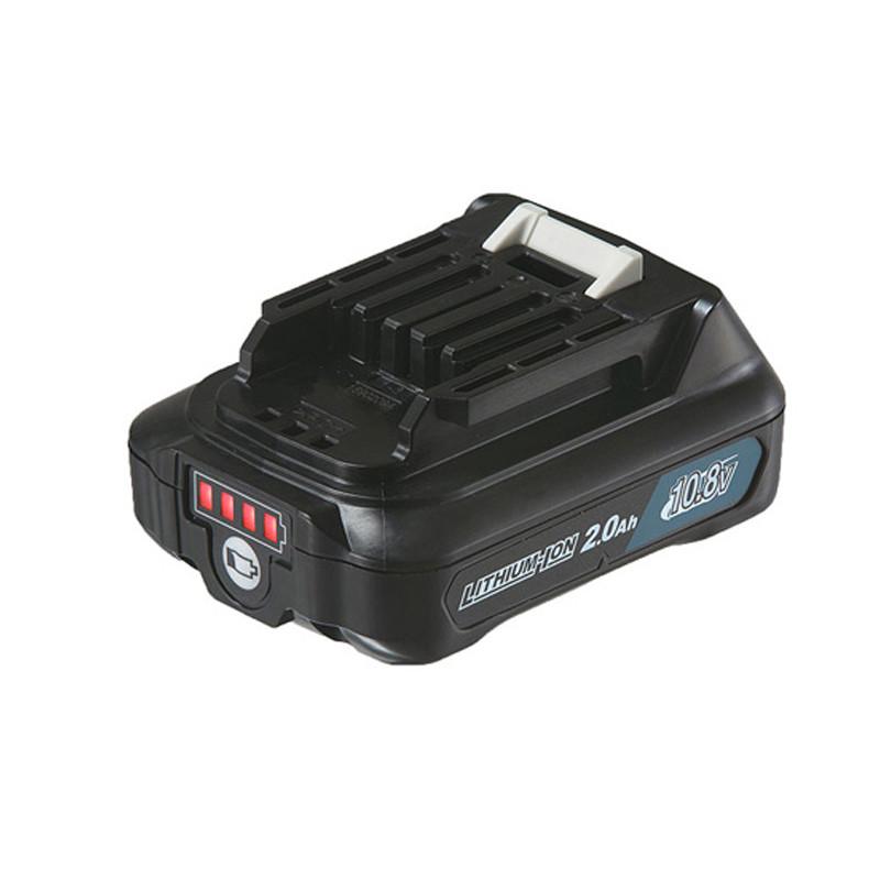 Batterie Makstar 10,8V Li-Ion 2.0 Ah avec indicateur de charge - BL1820B Makita