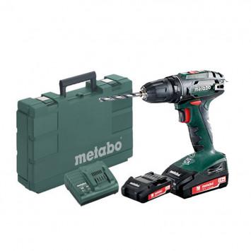 Perceuse visseuse 18V (2x 2Ah) en coffret - METABO BS 18 (602207560)