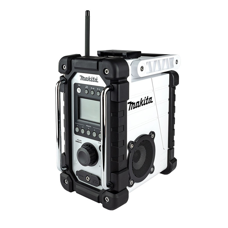 Radio de chantier 7 W (Machine seule) série Blanche - MAKITA DMR107W