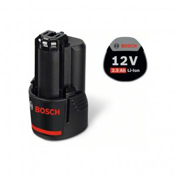 Batterie 10,8V 2,5Ah O-B, Noir - BOSCH 2607337224
